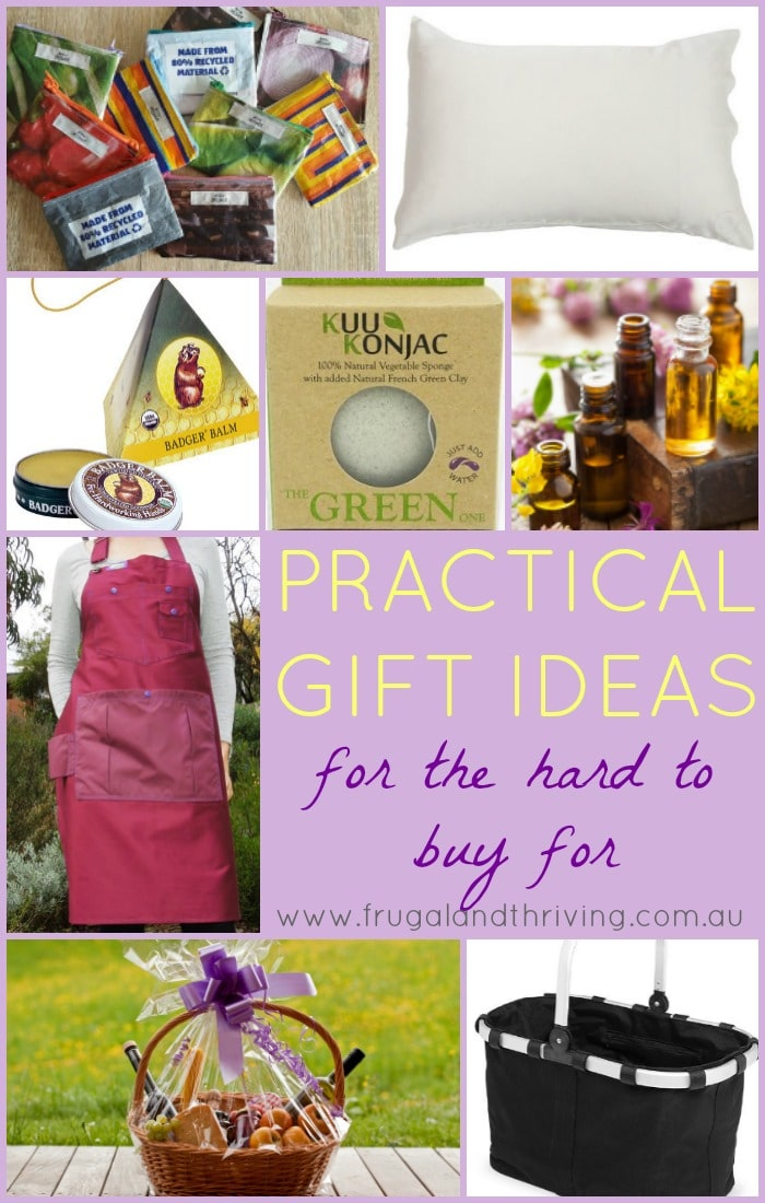 practical gifts for the hard to buy for