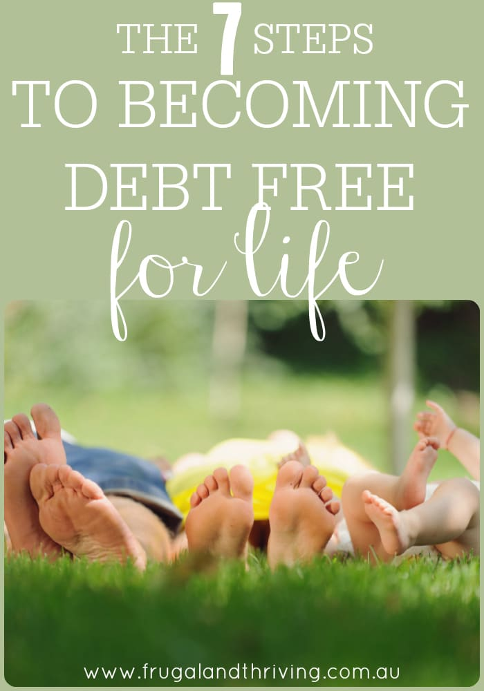 becoming debt free for life