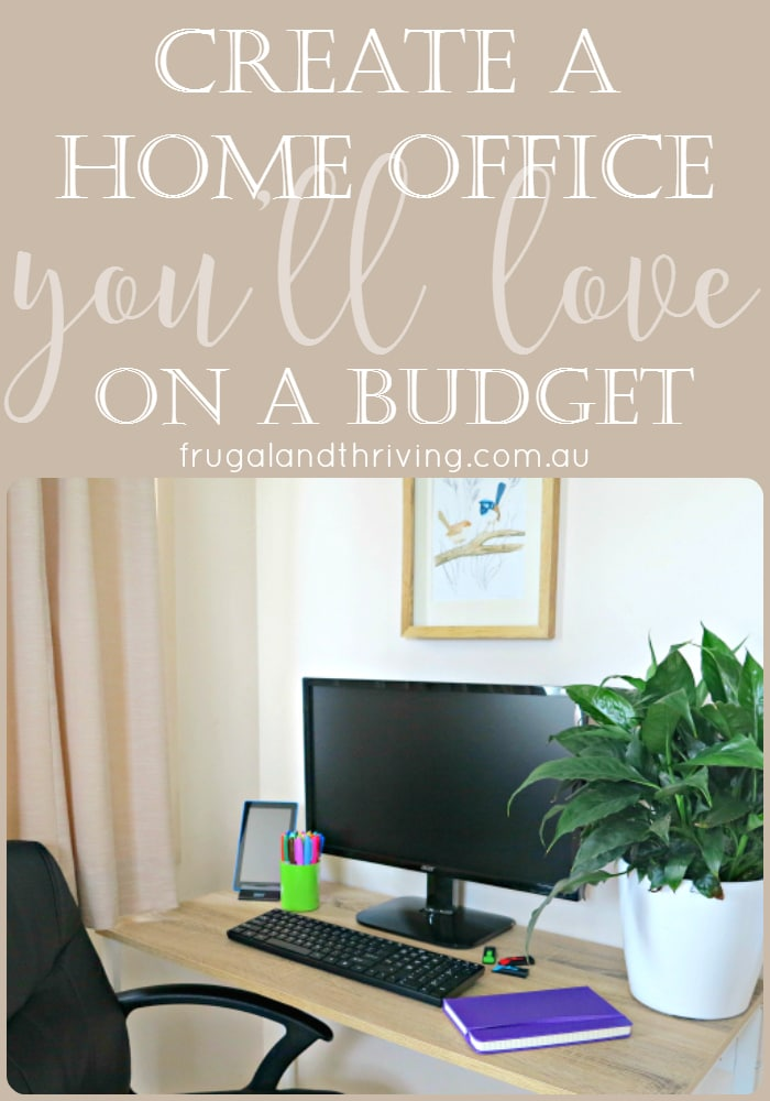 How to create a home office on a budget and in a small space for Creating a home office