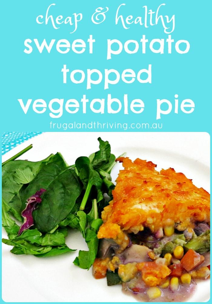 sweet potato topped vegetable pie pin
