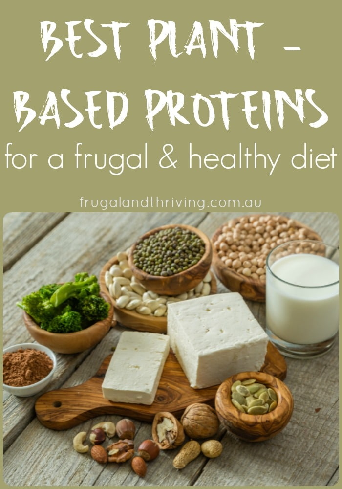 frugal plant-based proteins