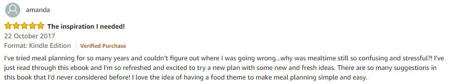 Plan Cook Save Testimonial