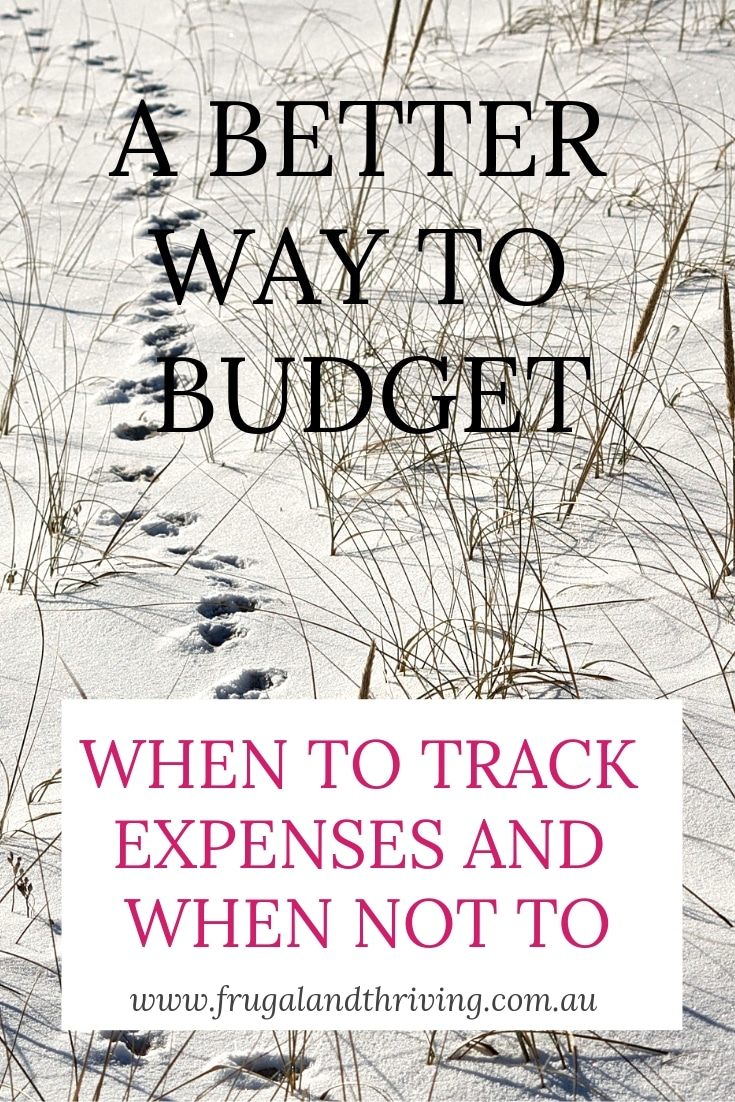 when to track expenses