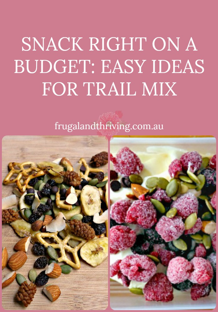 trail mix ideas