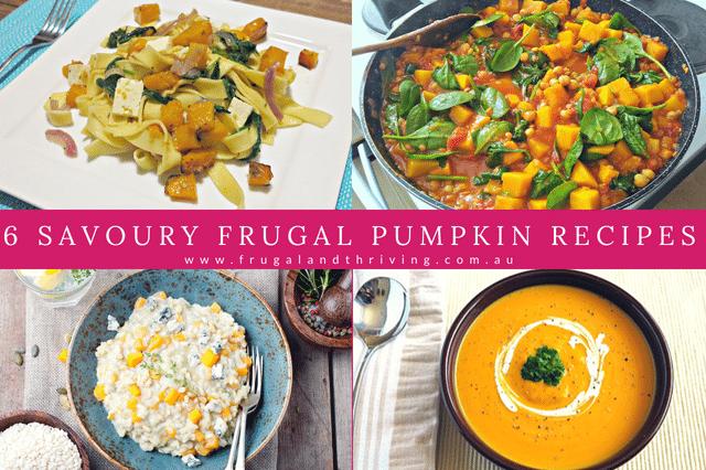 savoury pumpkin recipes