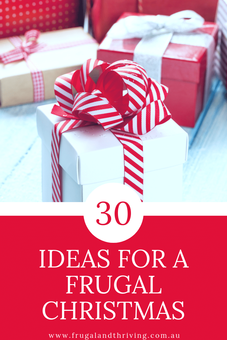 ideas for a frugal christmas