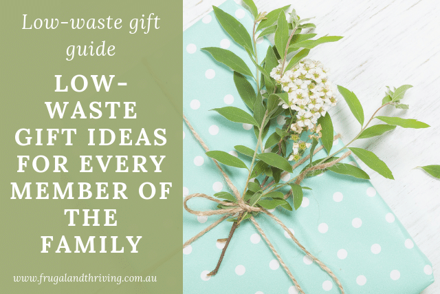 low-waste gift guide
