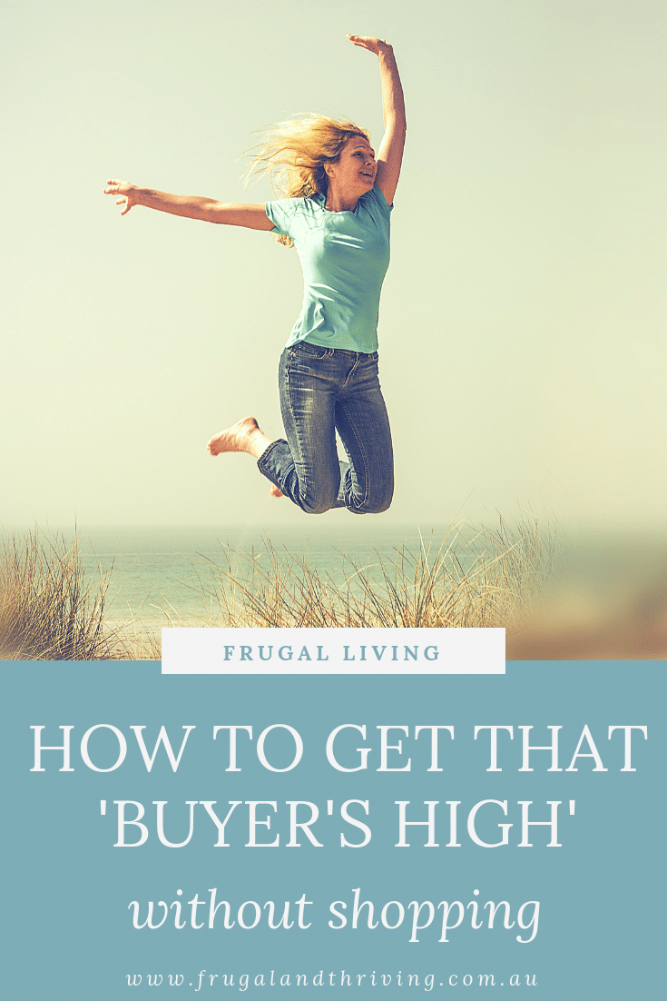 what to do instead of shopping to get that buying high