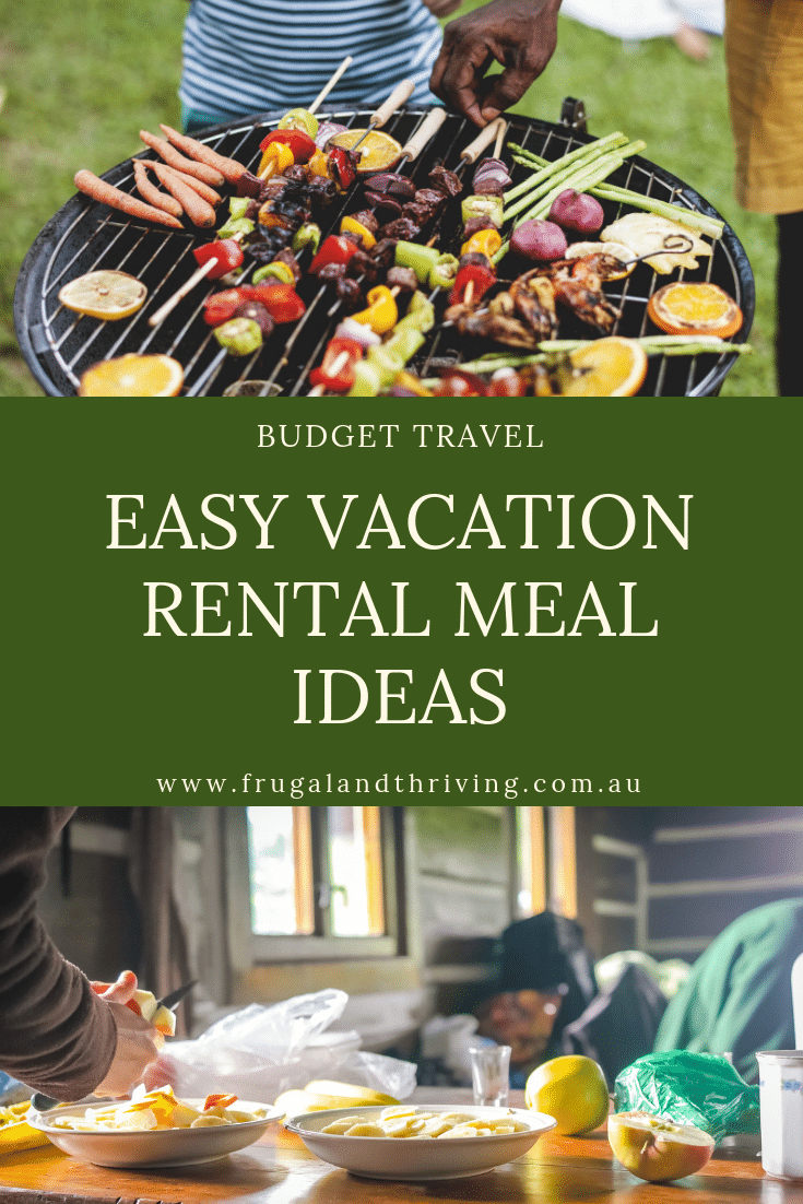 vacation meal ideas