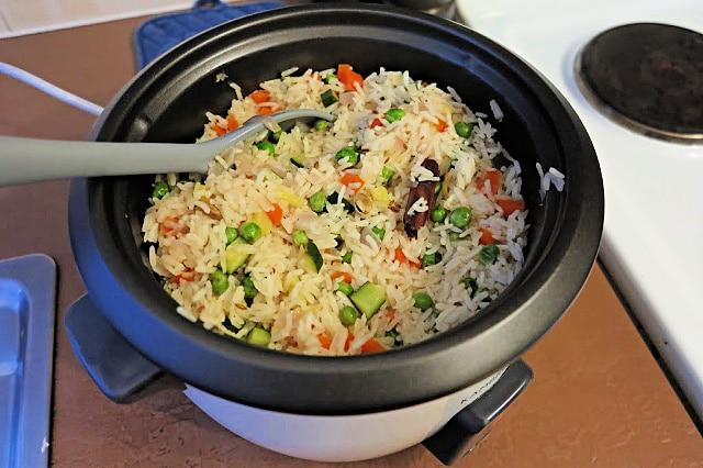 rice cooker pilaf