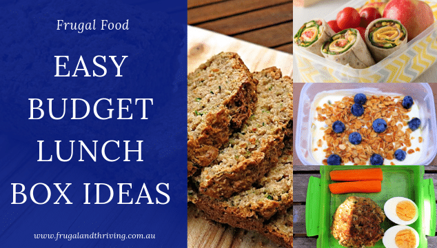 easy budget lunch box ideas