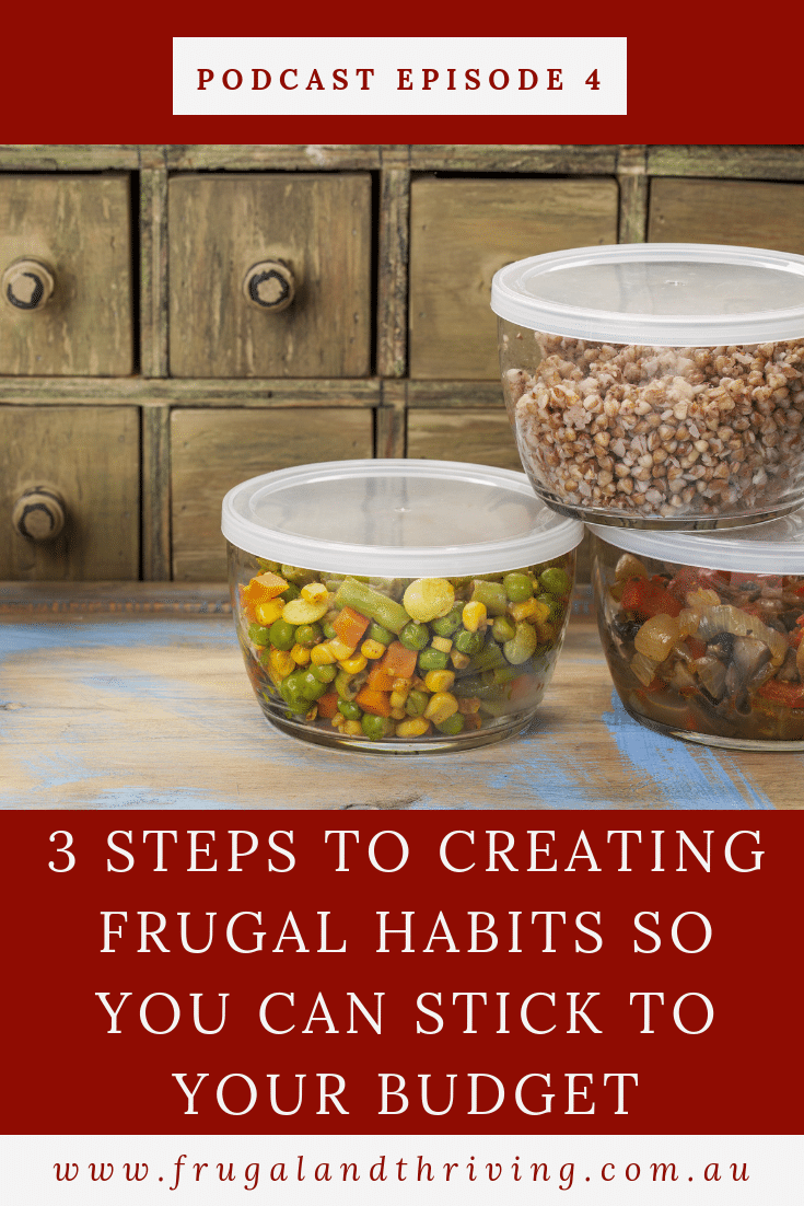 A budget is just good intentions unless you follow through with action. Read the three-step process for taking the right action and how to turn that action into a frugal habit. #budgeting #frugalliving