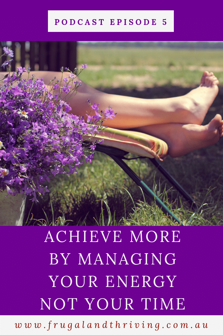 When it comes to trying to fit everything in, we look to time-management hacks. But to achieve more, you need to manage your energy, not your time. #simpleliving #productivity