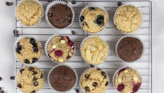 Basic muffin recipe with varations
