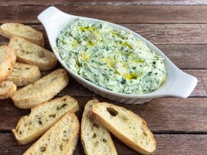 easy spinach and artichoke dip recipe
