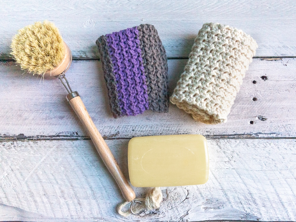 why use knitted dishcloths