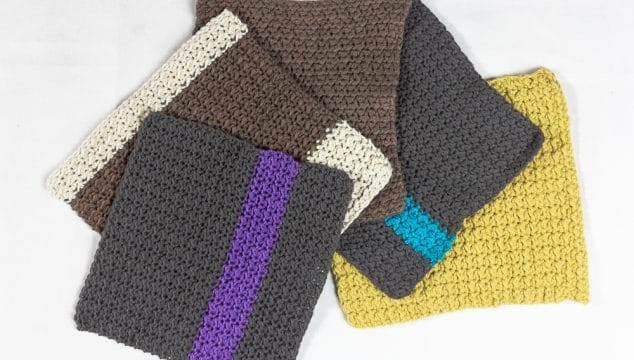 knitted dishcloth patterns
