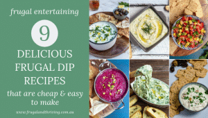 easy homemade dip recipes