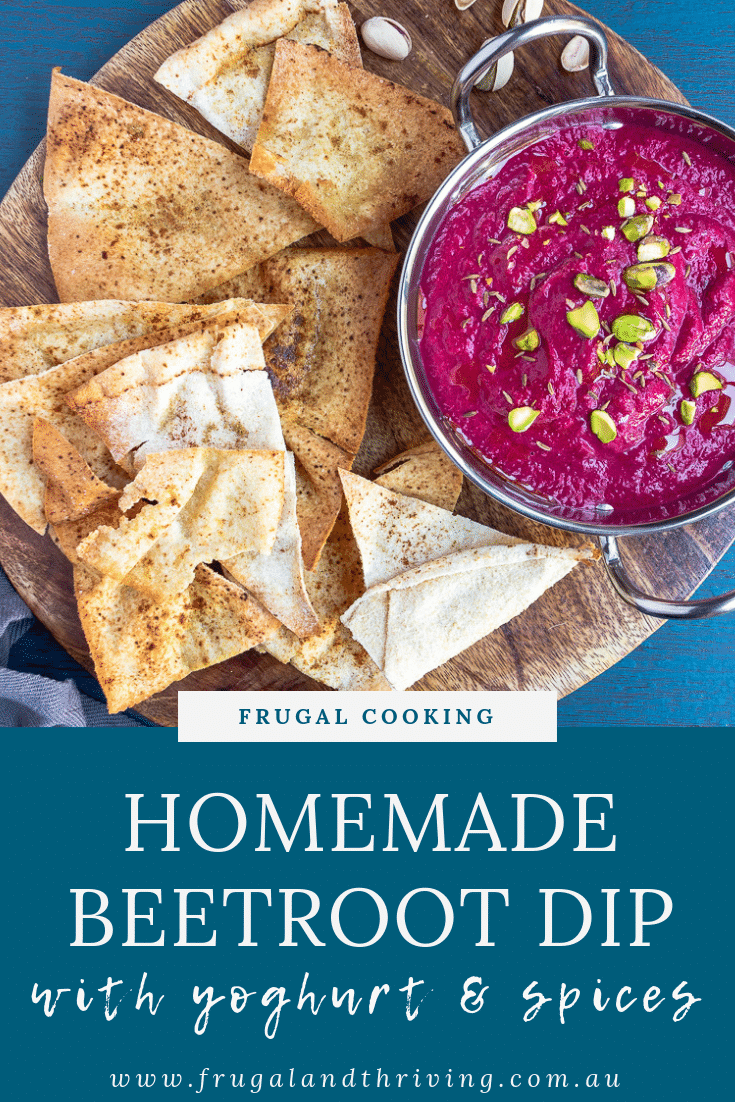 Roast Beetroot Dip with Yoghurt and Spices