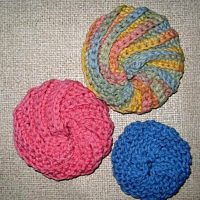 Spiral scrubbies & dish cloths