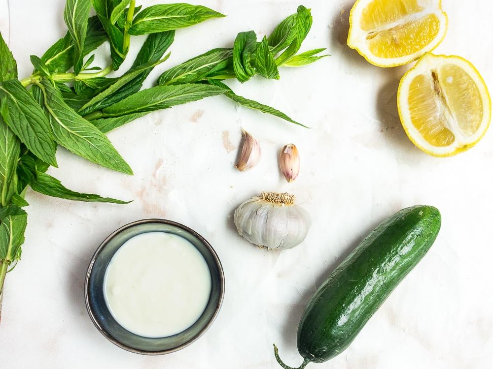 tzatziki dip recipe ingredients