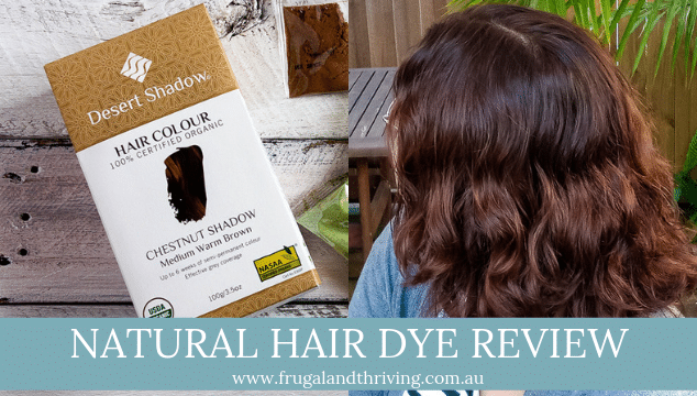 How to Dye Your Hair Naturally Using Desert Shadow Chestnut