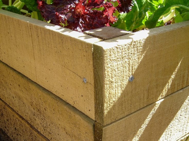 How to Build a Raised Garden Bed from Fence Pailings