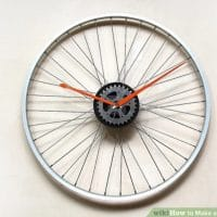 How to Make a Bicycle Rim Clock