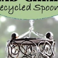 DIY Wind Chimes - Recycle Spoons