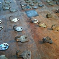 Peter Cole's Vintage Key Hooks and Necklaces