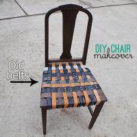 Make a Woven Belt Seat