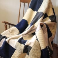 Felted Wool Sweater Blanket Tutorial » Yellow Suitcase Studio