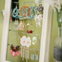 Tutorial: Shabby Chic Dangly Earring Display