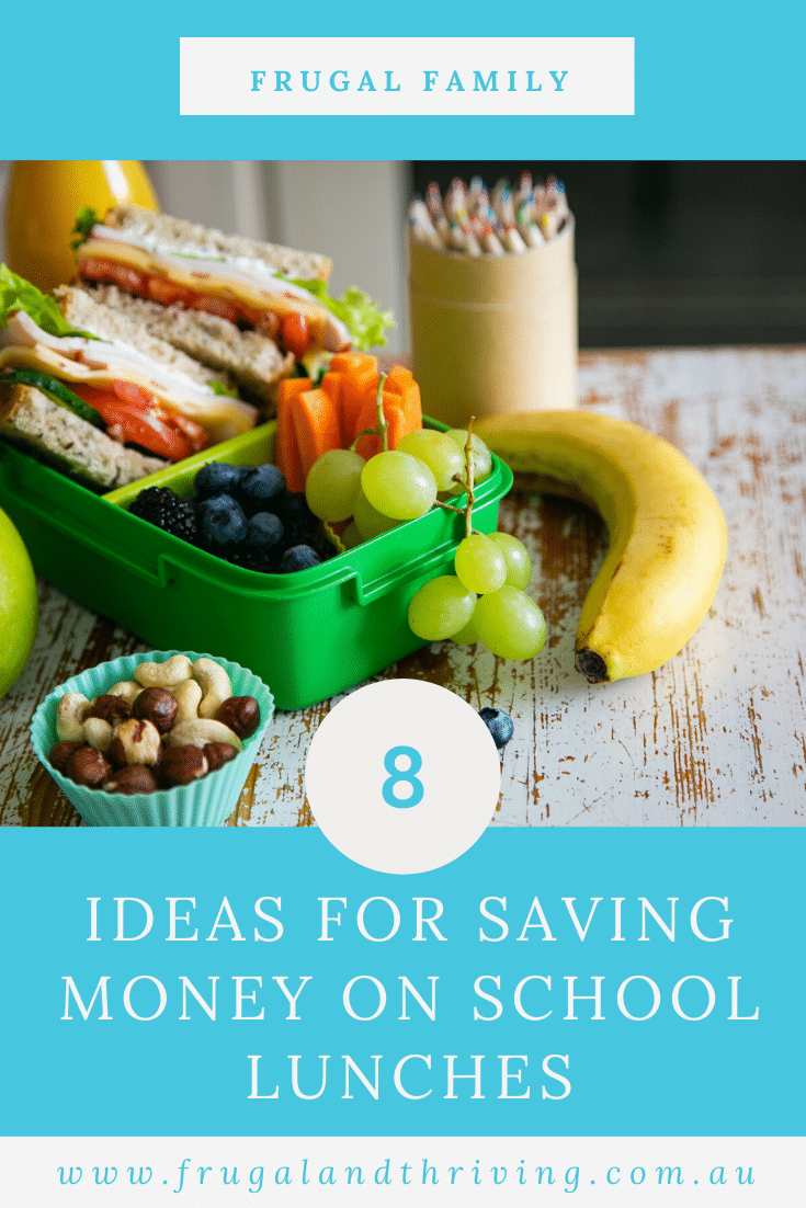 These tips and tricks will help you save money on school lunches that you send from home. Pack lunches your kids enjoy - and are healthy! - on a budget. #frugalfood #backtoschool