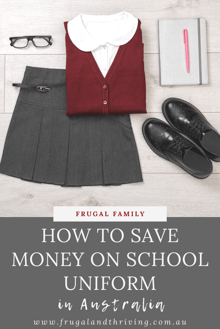 In this article, you will find twelve ways to save money on school uniform. Avoid paying hundreds every year on school clothing with these tips. #backtoschool #backtoschoolaustralia