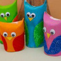 Owl Family Play Set