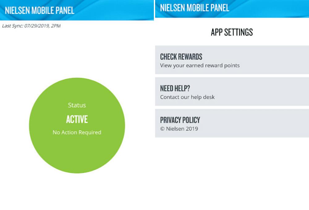 Neilsen mobile app