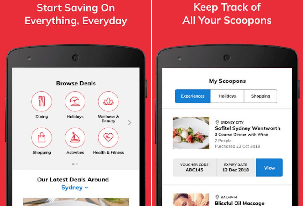 scoopon app