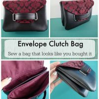 The Envelope Clutch Bag