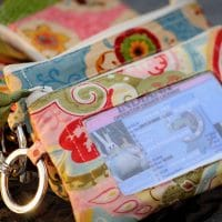 Small Purse with Licence Window