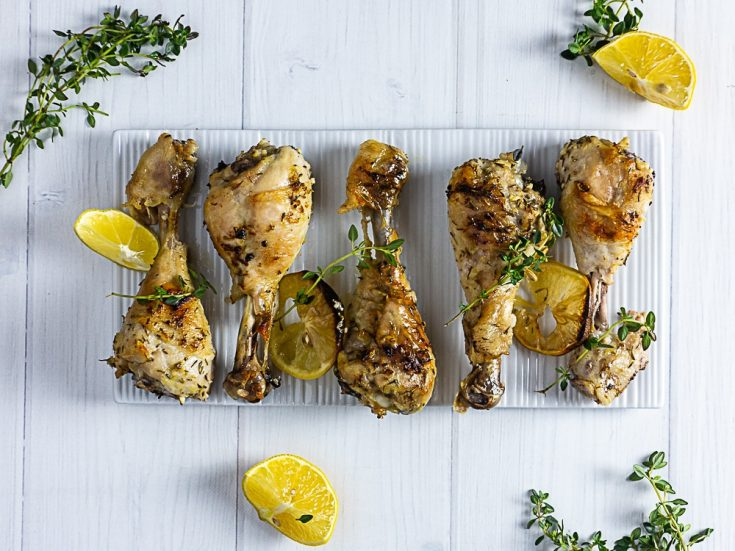 lemon and thyme chicken drumsticks
