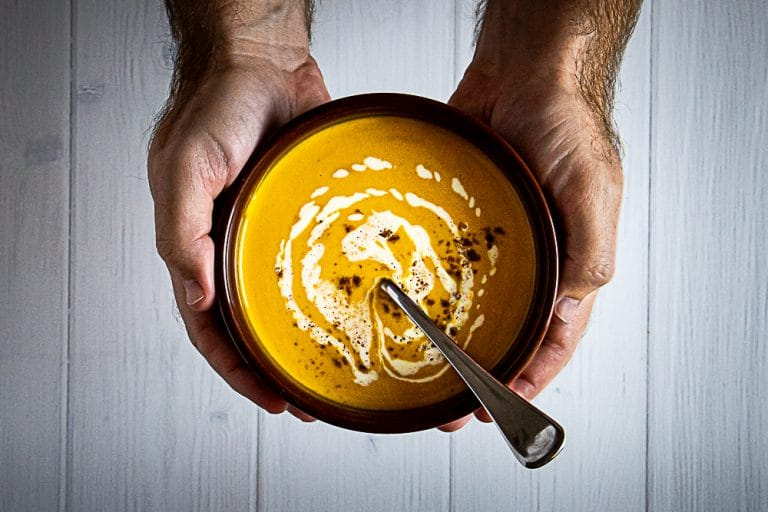 Simple Slow Cooker Pumpkin Soup