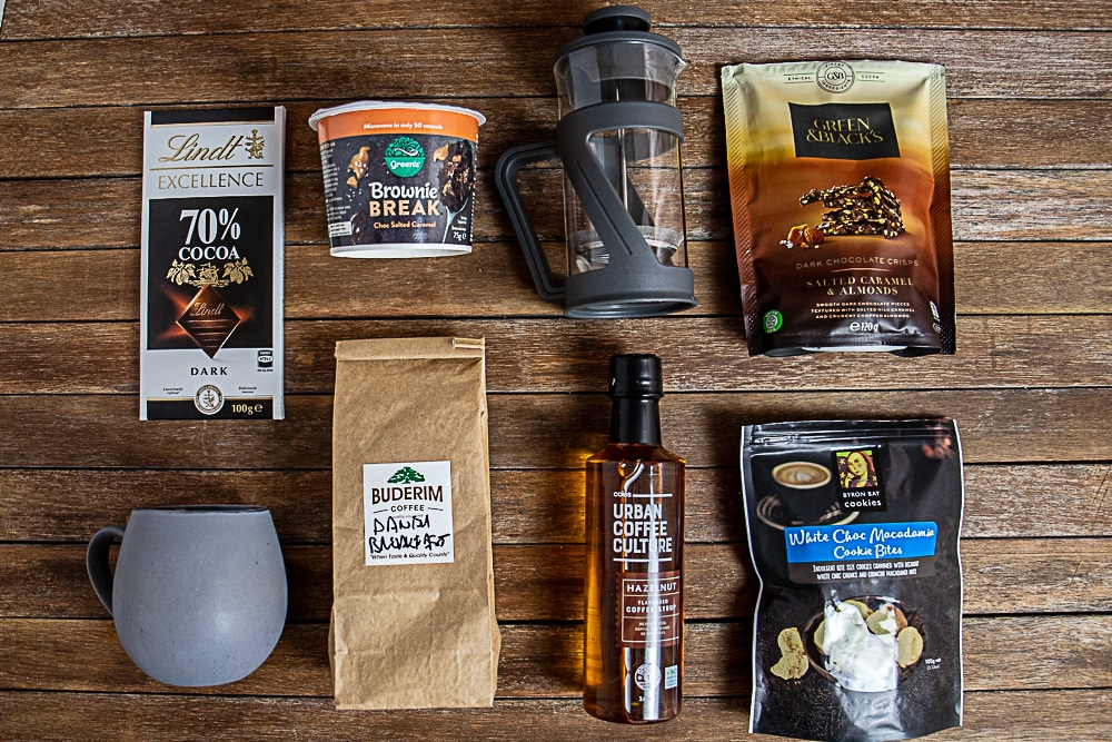 coffee hamper ideas