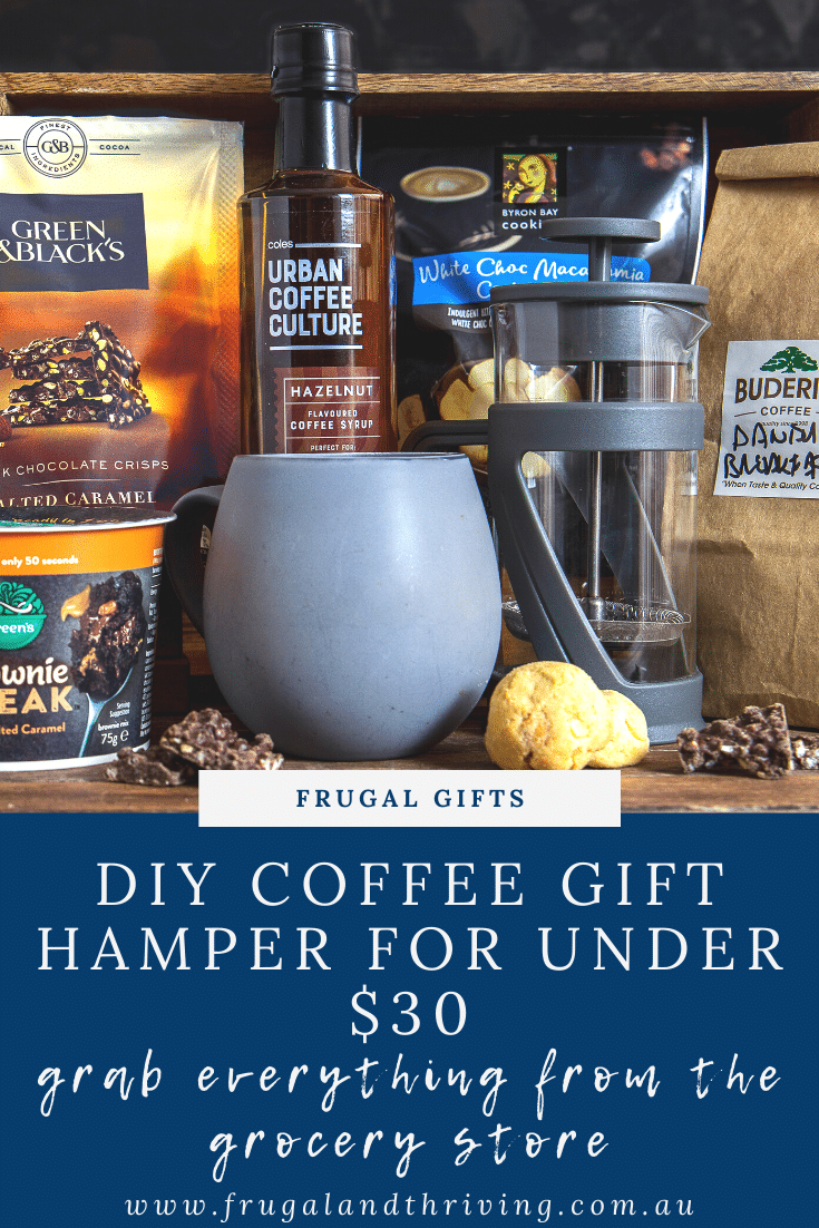 DIY Coffee Hamper for the Coffee Lover in Your Life