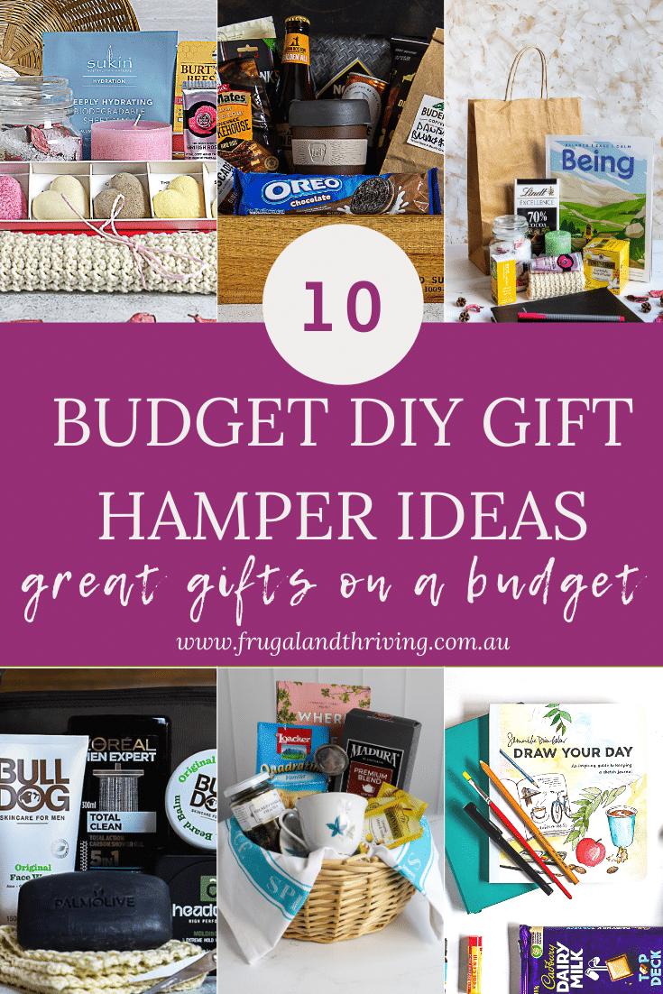 Easy DIY Hamper Ideas For Gifts Under $30