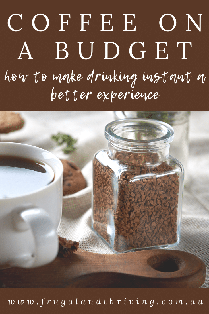 How to Make Instant Coffee Taste Better Than You Ever Throught It Could