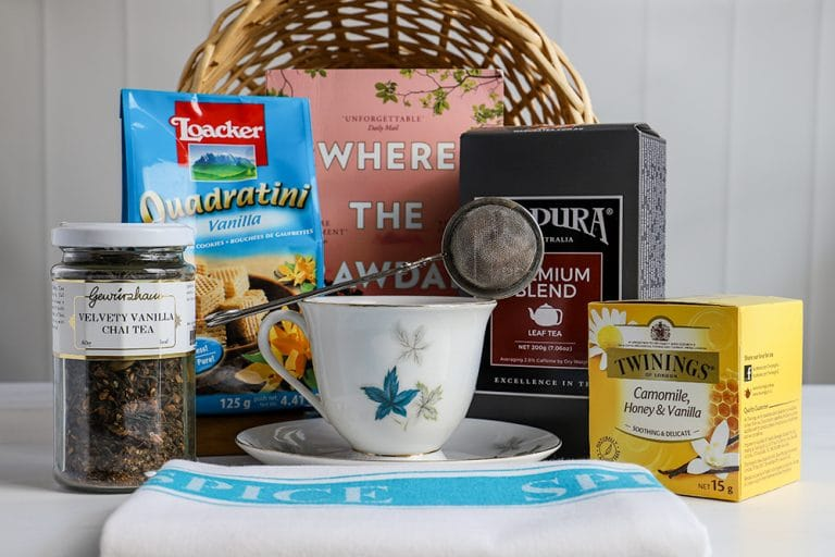 Easy DIY Tea Hamper for Under $30 – Great Gift for Tea Lovers