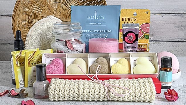 spa gift hamper ideas for women