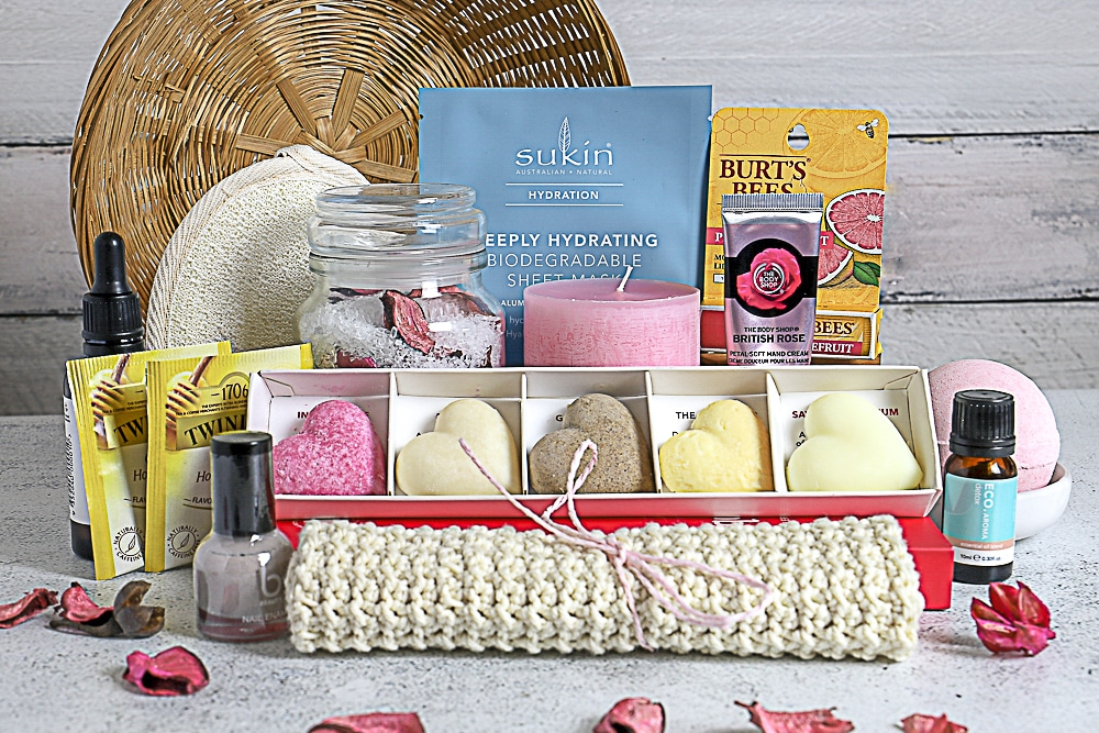 Budget Diy Spa Gift Basket Ideas For Women