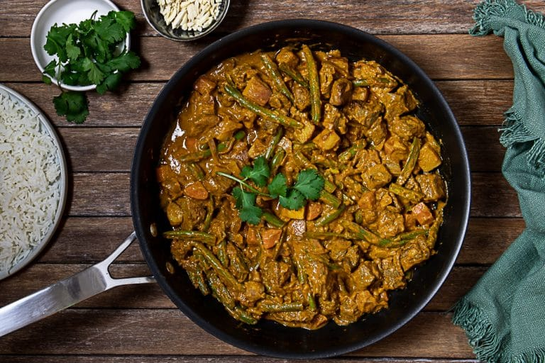 Simple Beef Curry with Curry Powder and Pantry Staples